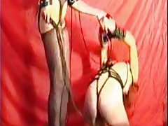 BDSM Big Boobs Mature Russian Strapon