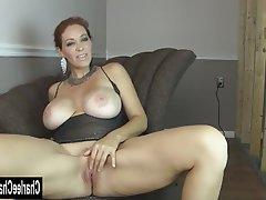 Big Boobs Brunette Masturbation Mature MILF