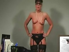 Lingerie Masturbation Mature MILF Old and Young