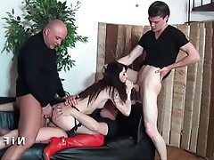 Amateur Anal Double Penetration French Group Sex