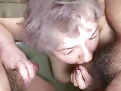Big Boobs Granny Group Sex Mature Old and Young