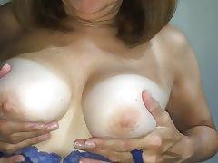 Amateur Lingerie Mature MILF Nipples