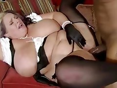 BBW Interracial Mature MILF