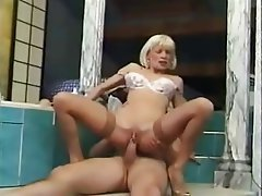 Anal Blonde French Hardcore MILF