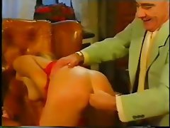 Anal Blonde French Stockings