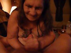 Amateur Cumshot Facial Granny Mature