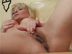 Blonde Masturbation Mature MILF POV